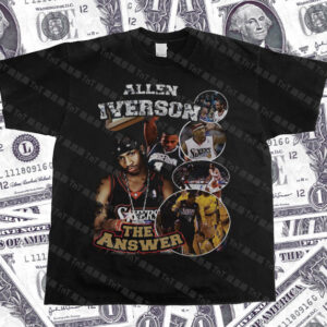 The Answer Allen Iverson Hiphop Vintage Tee