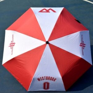 Zont NBA Houston Rockets 0 Red White Umbrella