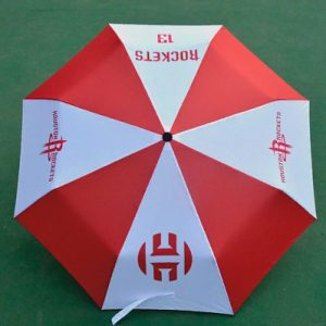Zont NBA Houston Rockets 13 Red White Umbrella