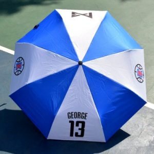 Zont NBA Los Angeles Clippers 13 Blue White Umbrella