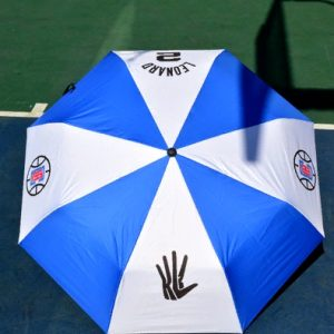 Zont NBA Los Angeles Clippers 2 Blue White Umbrella