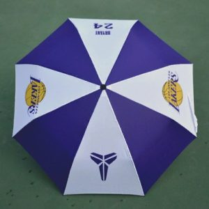 Zont NBA Los Angeles Lakers 24 Purple White Umbrella