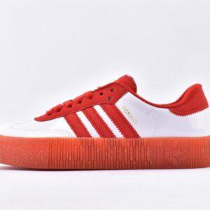 adidas Fiorucci x Wmns Sambarose Bold Red 1