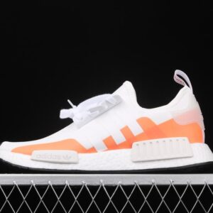adidas NMD R1 Cloud White Solar Red 1