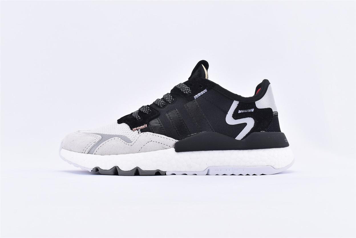 adidas Nite Jogger 3M Core Black Crystal White 1
