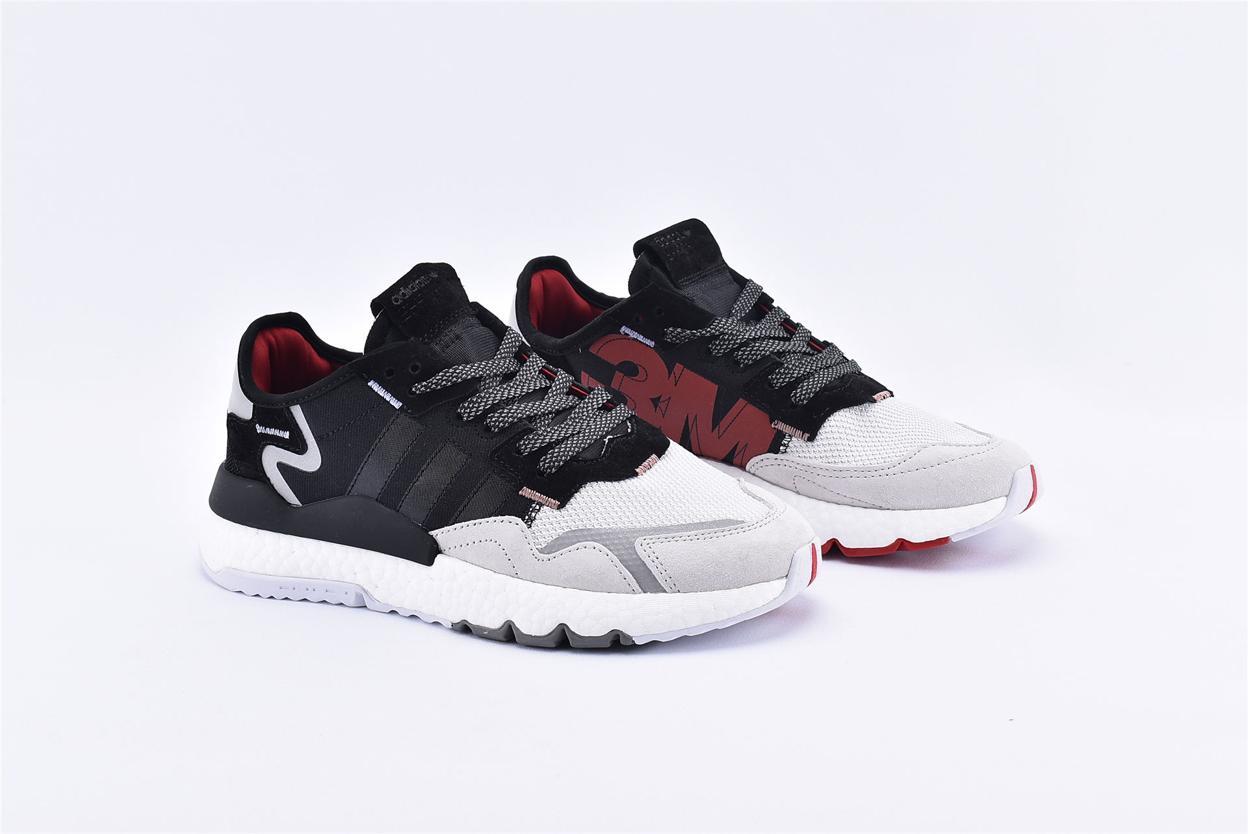 adidas Nite Jogger 3M Core Black Crystal White 2