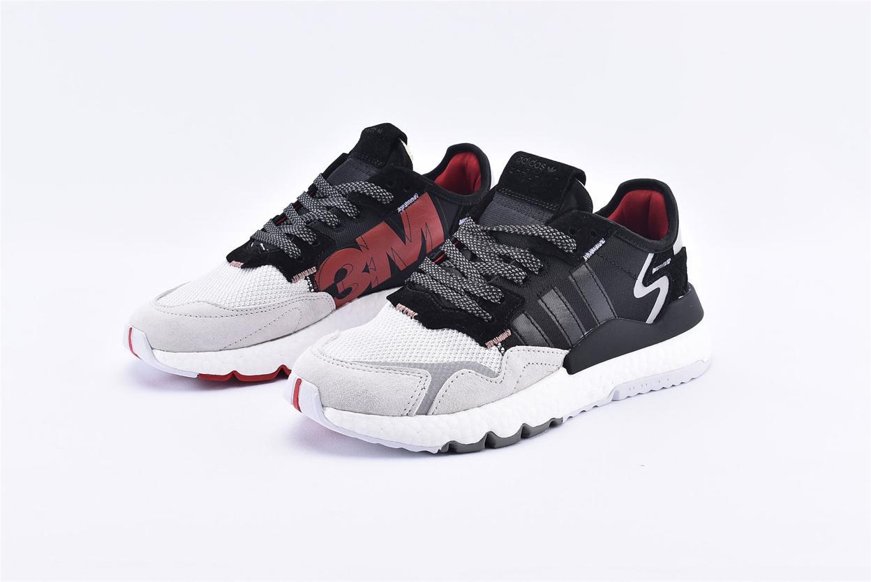 adidas Nite Jogger 3M Core Black Crystal White 5