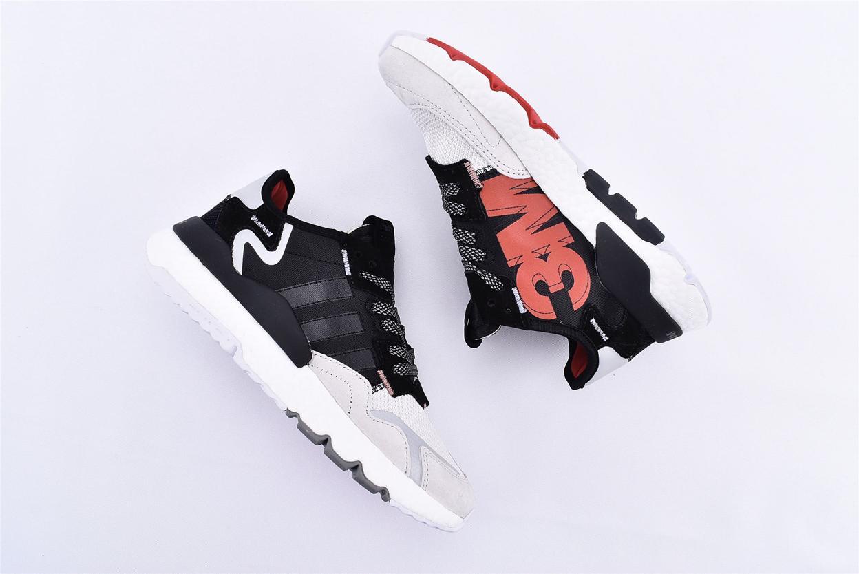 adidas Nite Jogger 3M Core Black Crystal White 7