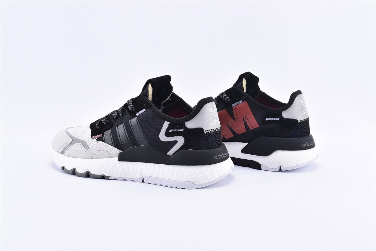 adidas Nite Jogger 3M Core Black Crystal White 9
