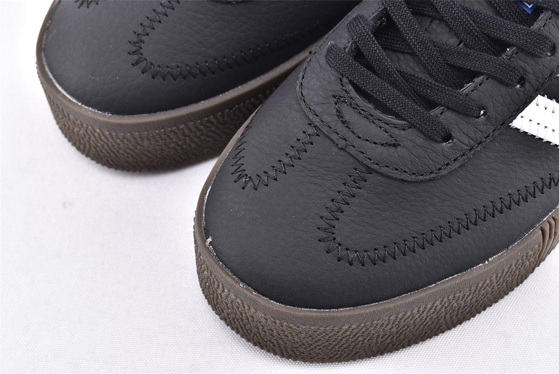 adidas Sambarose Black White Gum W 3