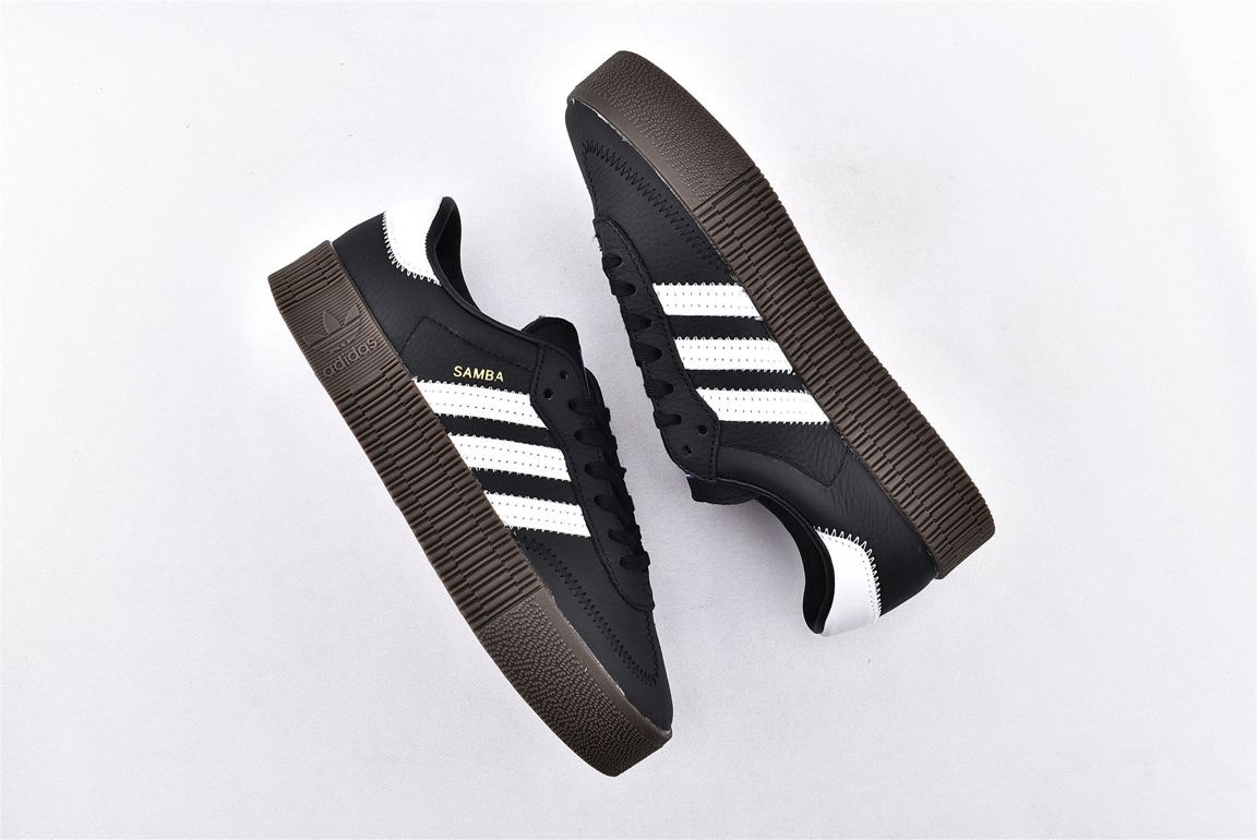 adidas Sambarose Black White Gum W 7
