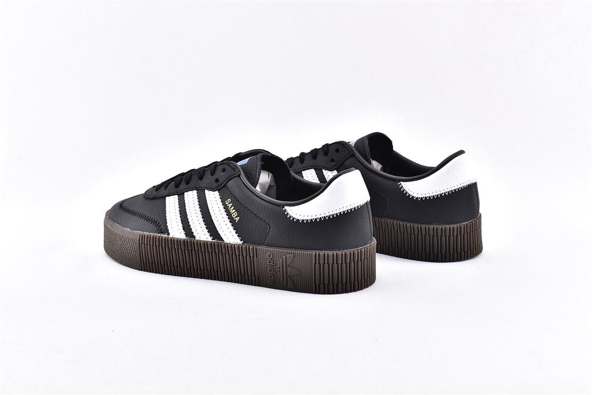 adidas Sambarose Black White Gum W 9