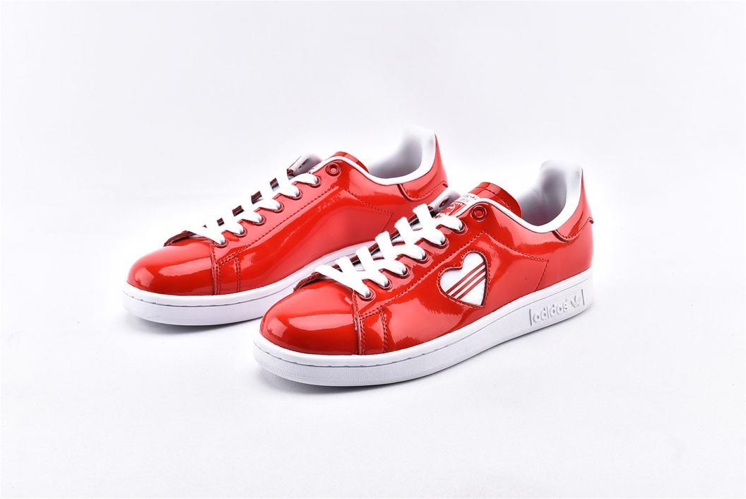 adidas Stan Smith Valentines Day 2019 Red W 5