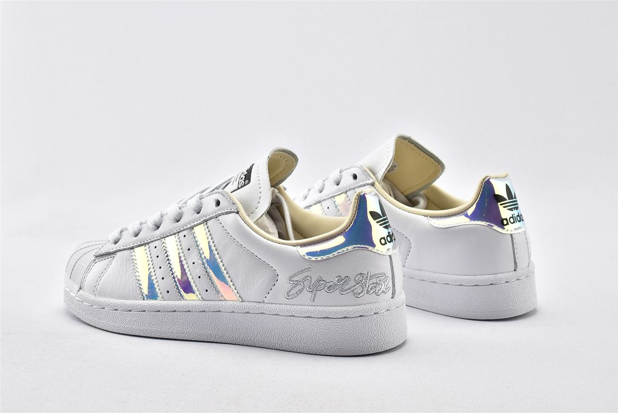 adidas Superstar Metallic Iridescent W 9