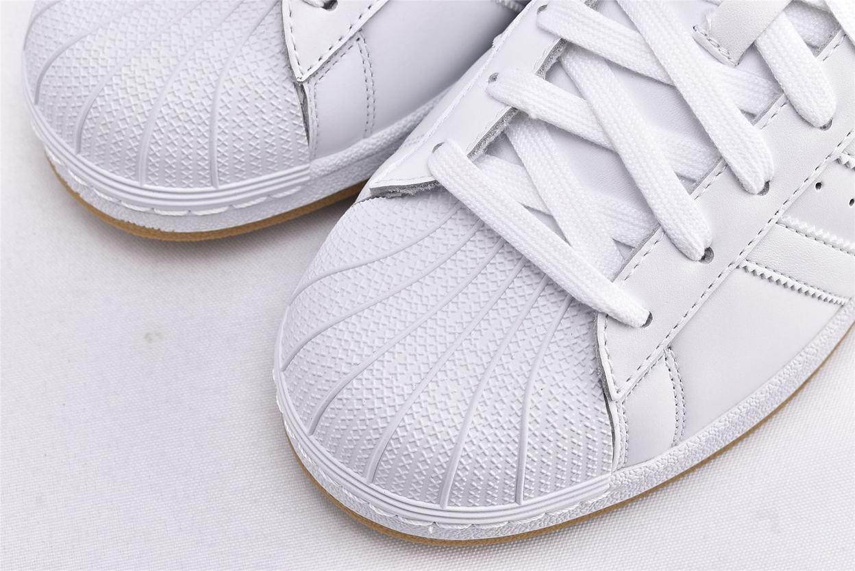 adidas Superstar Running White Gold 3