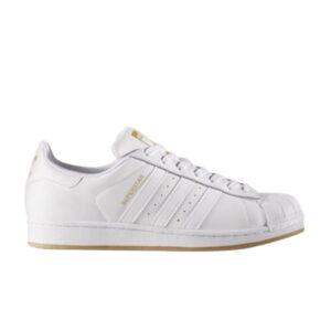 adidas Superstar Running White Gold