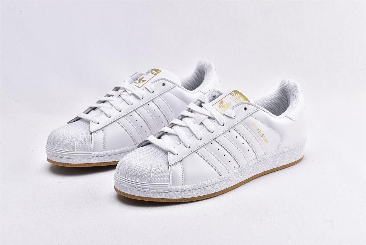 adidas Superstar Running White Gold 5