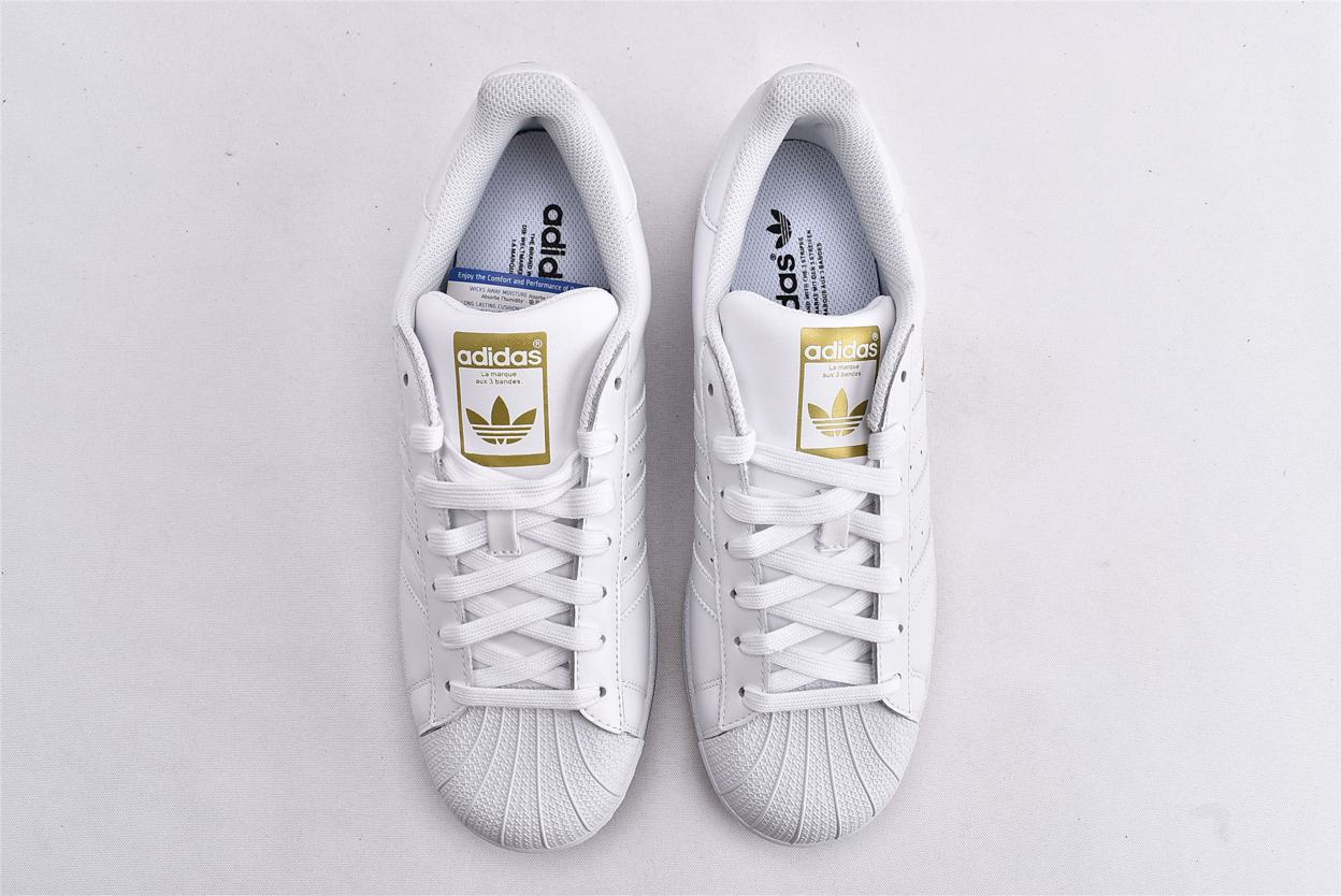 adidas Superstar Running White Gold 6