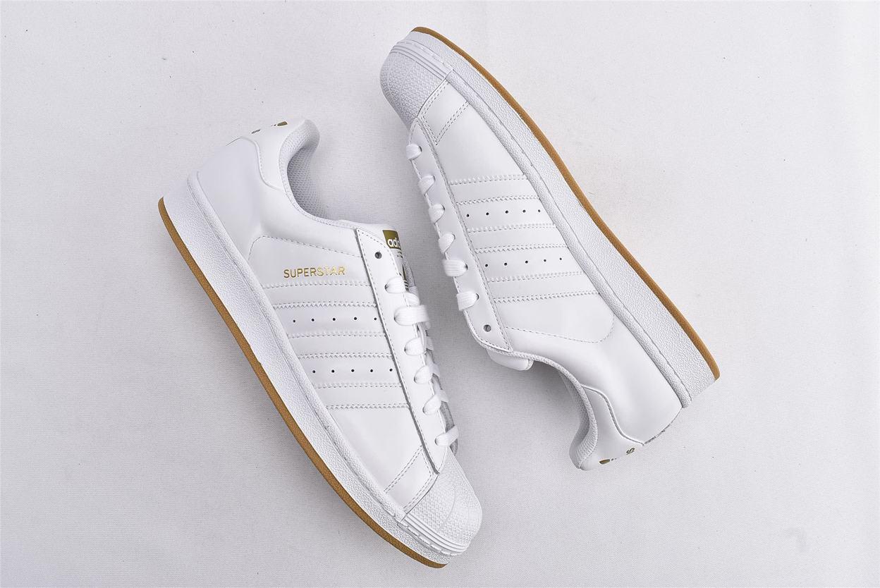adidas Superstar Running White Gold 7