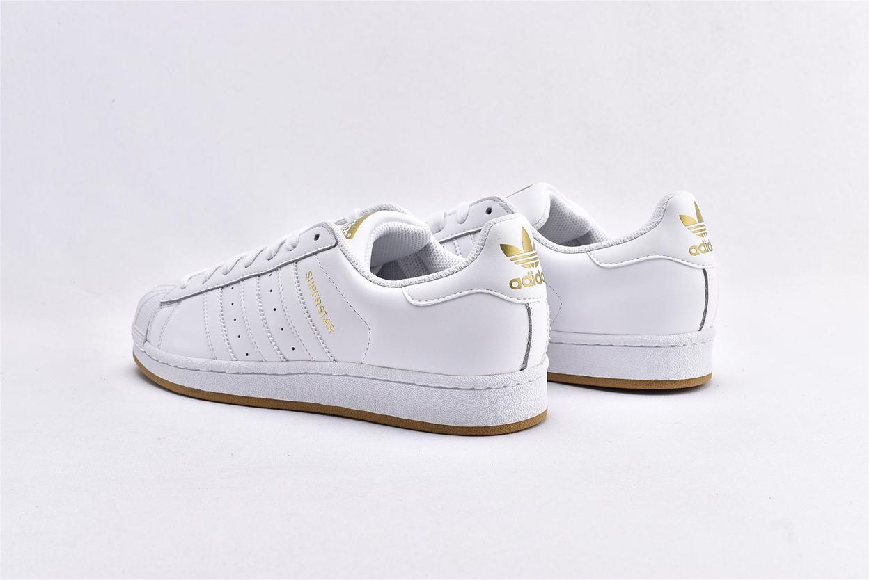 adidas Superstar Running White Gold 9