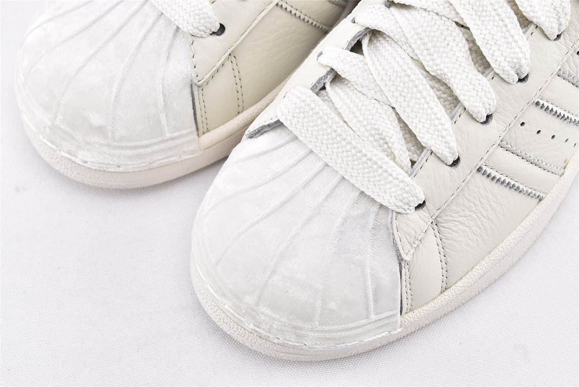 adidas Wmns Superstar Tonal Off White 3