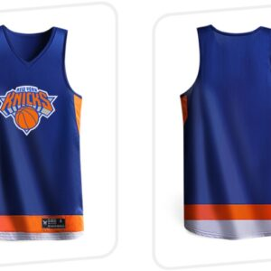 2019 BasketMan NY Knicks Navy Uniform 1