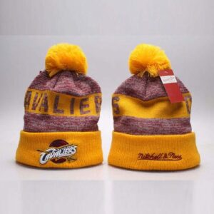 2019 Cavaliers Mitchell Ness Hat Yellow