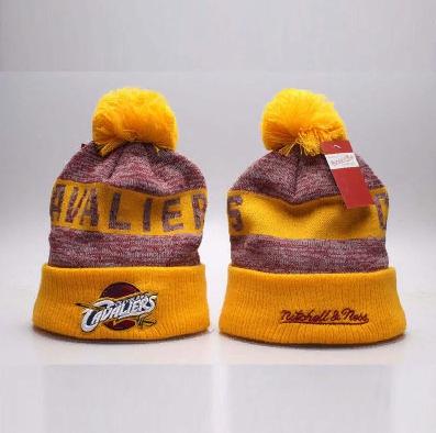 2019 Cavaliers Mitchell Ness Hat Yellow