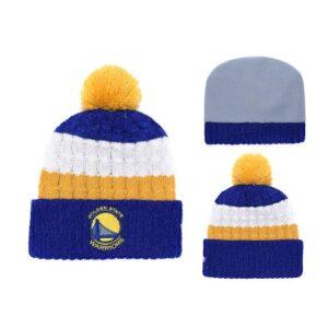2019 Golden State Warriors Blue Yellow Hat