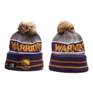 2019 New Era NBA Warriors Purple Hat