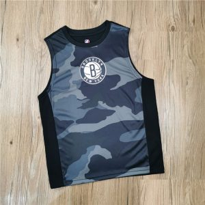 2020 Brooklyn Nets Kids Jersey Camo