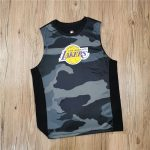 2020 Los Angeles Lakers Kids Jersey Camo