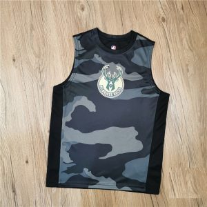 2020 Milwaukee Bucks Kids Jersey Camo