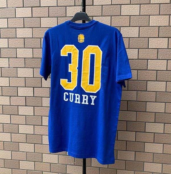 2020 NBA Golden State Warriors Curry 30 Blue 2