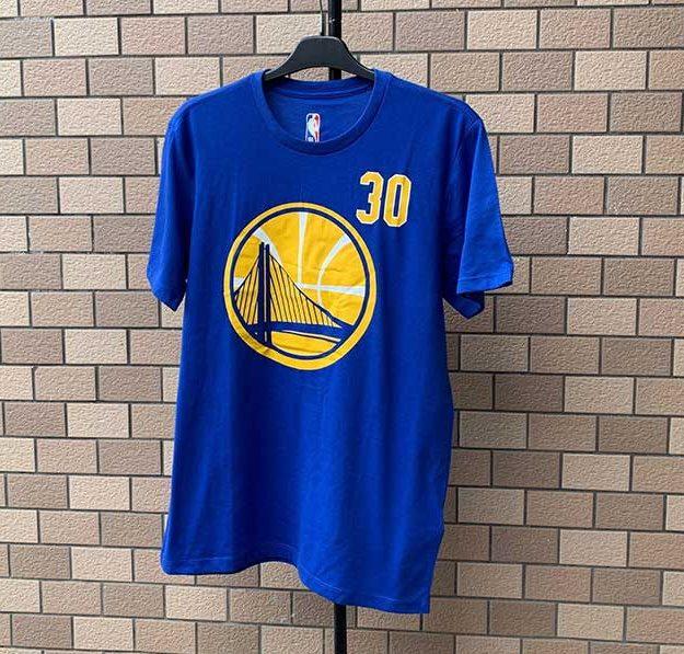 2020 NBA Golden State Warriors Curry 30 Blue