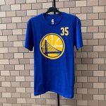 2020 NBA Golden State Warriors Durant 35 Blue