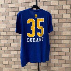 2020 NBA Golden State Warriors Durant 35 Blue 2