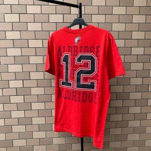 2020 NBA Portland Trail Blazers Aldridge 12 Red 1