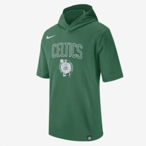 2020 Nike Mens NBA Celtics Hooded T Shirt