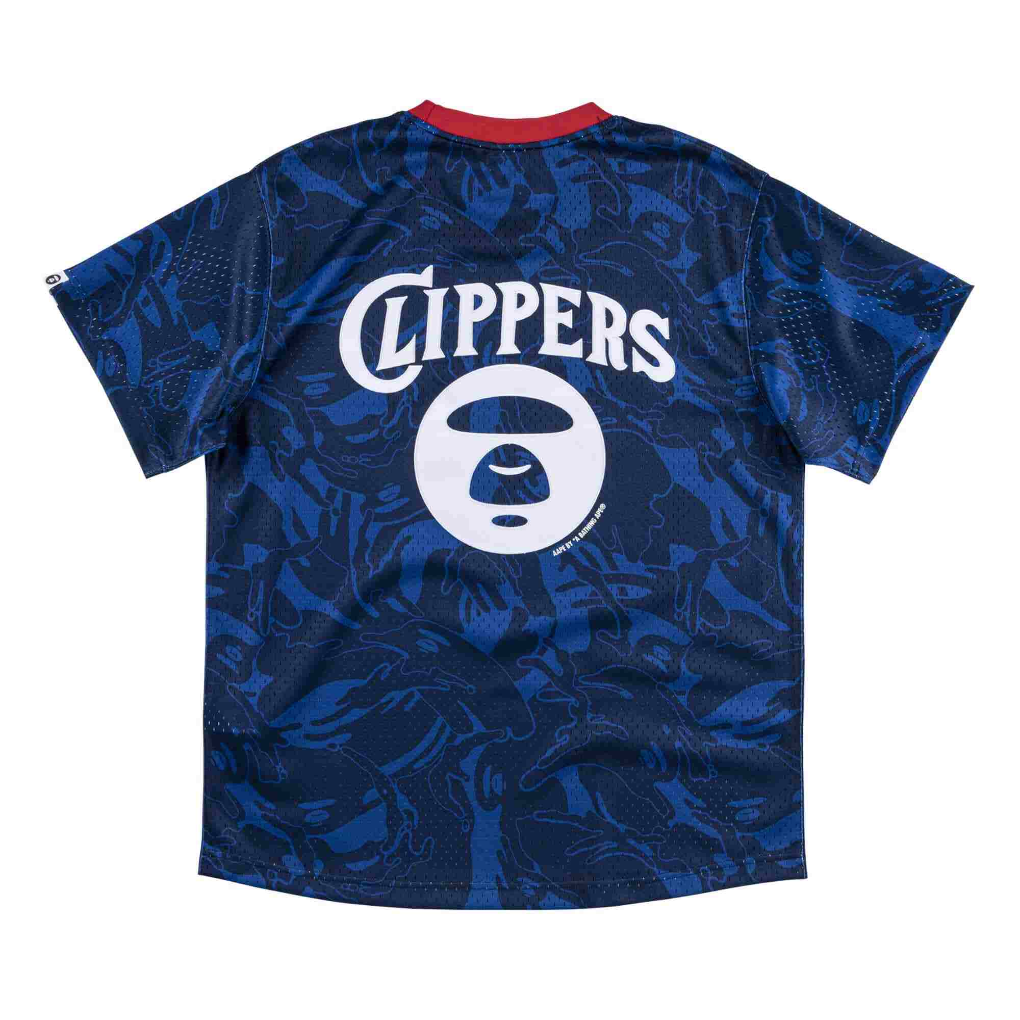 Aape x Mitchell Ness San Diego Clippers BP Jersey Navy 1