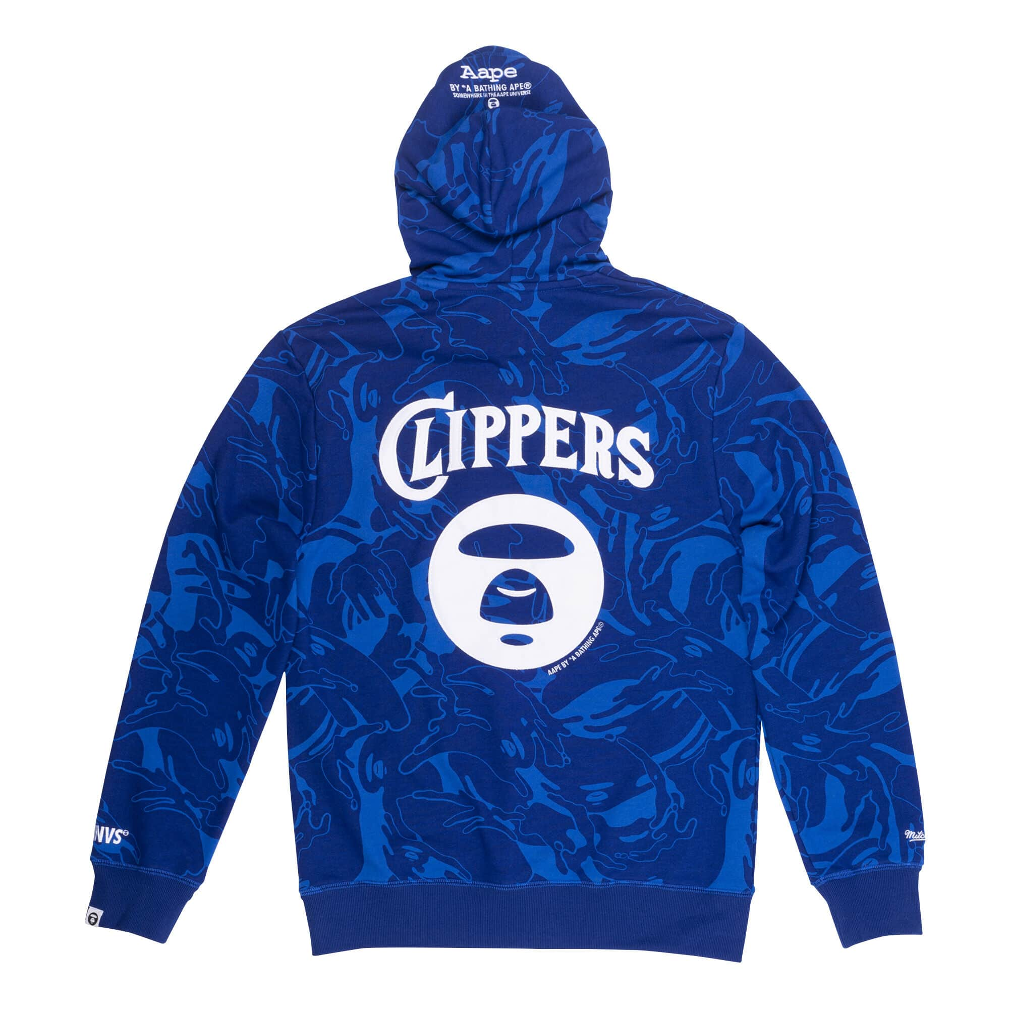 Aape x Mitchell Ness San Diego Clippers Hoodie Navy 1