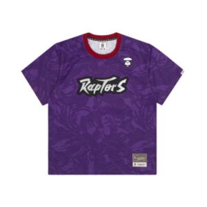 Aape x Mitchell Ness Toronto Raptors BP Jersey Purple