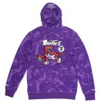 Aape x Mitchell Ness Toronto Raptors Hoodie Purple 1