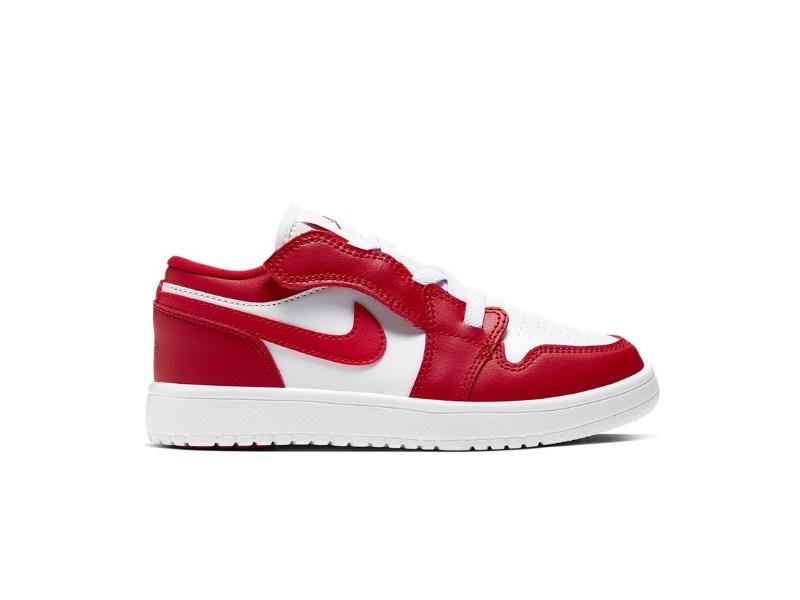 Air Jordan 1 Low Alt Gym Red White PS