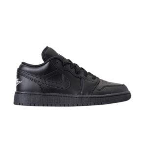 Air Jordan 1 Low GS Black