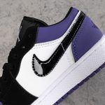 Air Jordan 1 Low GS Court Purple 10