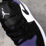 Air Jordan 1 Low GS Court Purple 11