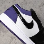 Air Jordan 1 Low GS Court Purple 12