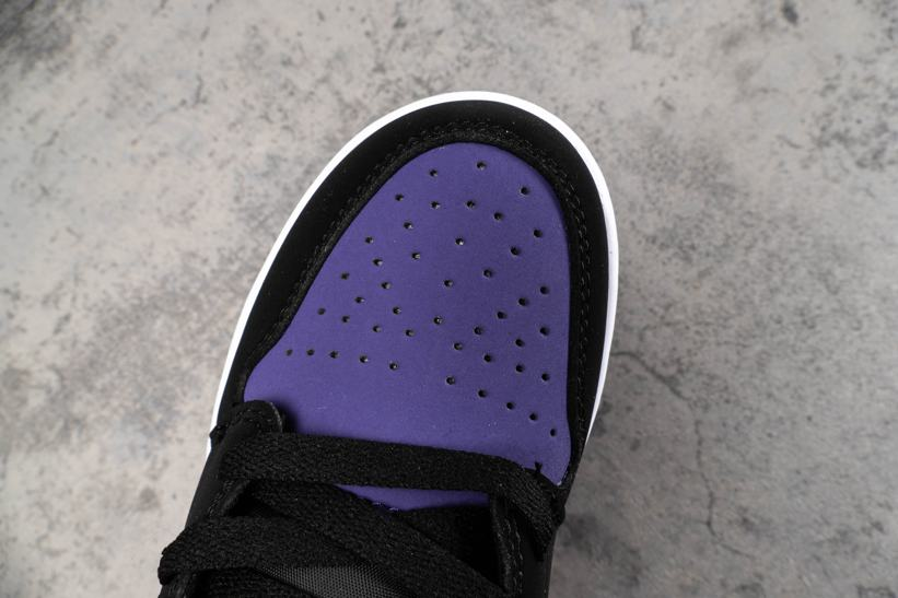 Air Jordan 1 Low GS Court Purple 13