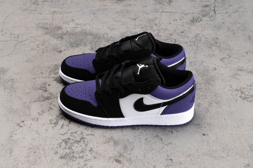 Air Jordan 1 Low GS Court Purple 2